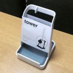 おすすめキッチン収納 tower(タワー)シリーズ「さい箸・お鍋のフタ・おたま置き」